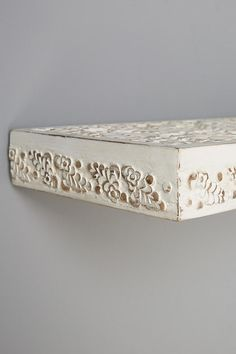 Carved Wood Shelf