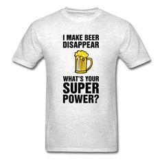 Beer Superpower - Men's T-Shirt