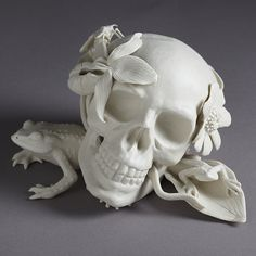 "So many things to think about...""Memento Mori"" from Kate MacDowell."