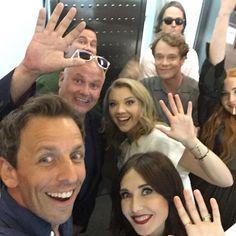 Game of Thrones cast selfie #GoTSDCC