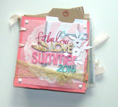 Mini Album Scrapbooking : Diario de Verano 2014 | Scrapbookpasion
