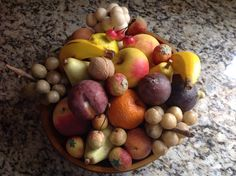 a collection of stone fruit. Fruit Love, Mixed Fruit, Fruits And Vegetables, Veggies, Alabaster Stone, Keeping Room, Stone Fruit, Old Stone, Tutti Frutti