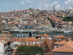 """Vila Nova de Gaia, Home to Port Wine Producers and Tasting Rooms - by James Martin, About.com Europe Travel 