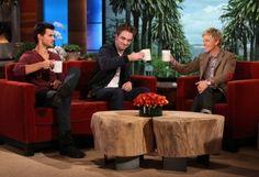 Cheers! On Ellen!