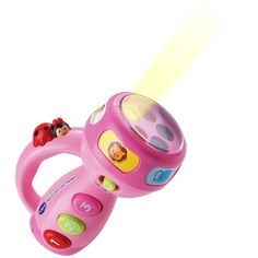 Spin & Learn Color Flashlight Pink