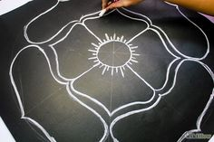 How to Make Rangoli. Rangoli is a traditional Indian sand-painted design often seen during Diwali, the Indian festival of lights. Historically created on floors inside and outside of homes, Rangoli can be made in a wide variety of designs,. Indian Festival Of Lights, Festival Lights, Diwali Rangoli, Diwali Craft, Fall Art Projects, Diwali Celebration, Holidays Around The World, Holiday Crafts For Kids, Diwali Decorations