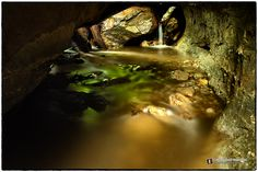 Under the rocks, Parfrey's Glen SNA - SkilletCreekPhotography.com