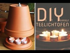 Build your own tealight oven - Questioned: Test of heating power - Talu.de Build your own tealight oven – Questioned: Test of heating output – Talu. Ikea Kallax Hack, Hacks Diy, Clay Pots, Build Your Own, Decorative Bells, Tea Lights, Diy And Crafts, Projects To Try, Homemade