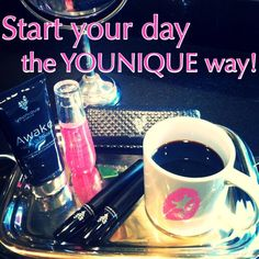 Pour yourself a cup of coffee and take your sweet time putting on your makeup. You deserve it ;)  www.LashesByTiffani.com