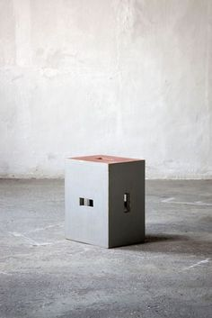 """""""You know, it is life that is right and the architect who is wrong"""" - LE CORBUSIER - (""""Stool Unité d'habitation"""" designed by Le Corbusier)"""