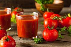 Raw Organic Tomato Juice by brenthofacker