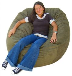 Charmant Cozy Sack 4 Feet Bean Bag Chair