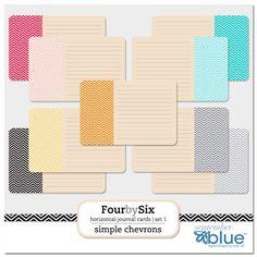 Free Printable Chevron Journaling Tags!