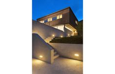 LED Wall Packs With Photocell - Outdoor Security Lights Modern Residential Architecture, Light Architecture, Outdoor Areas, Outdoor Walls, Exterior Lighting, Outdoor Lighting, Palermo, Led, Brick Steps