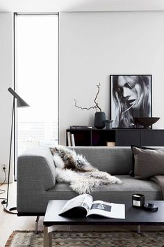 25 Easy Home Interior Design Tips That Anyone Can Implement – HomeDecorateTips Interior Doors For Sale, Cool Couches, Modern Bedroom Decor, Chic Living Room, Luxury Sofa, Interior Design Tips, Design Ideas, Diy Home Decor, House Design