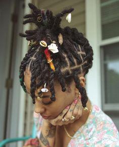 Short Dreadlocks Styles, Short Locs Hairstyles, Dreadlock Styles, Curly Hair Styles, Cool Hairstyles, Dreads Styles For Women, Natural Hair Inspiration, Natural Hair Tips, Natural Hair Styles