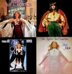 "When not being an adult actress, the late singer Andrea True (of ""More, More, More"" / Andrea True Connection fame) enoyed wearing lots of clothing, including #capes. Especially capes."