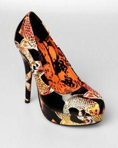 Amazon.com: Iron Fist Koi Samui Platform - Black: Iron Fist: Shoes