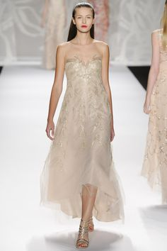 Monique Lhuillier - New York Fashion Week - S/S 2014