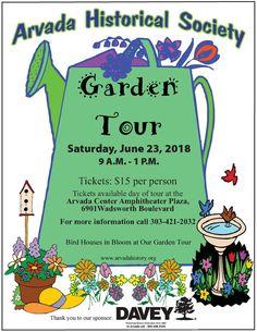 Arvada Historical Society 8th Annual Garden Tour | Arvada, CO: Arvada Visitors Center