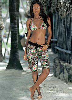 Chiemsee Multi-Coloured Beach Shorts