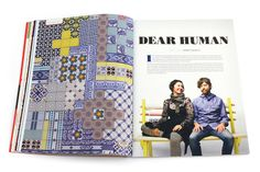"UPPERCASE issue 21 ""Dynamic Duo: Dear Human"" by Correy Baldwin http://www.uppercasemagazine.com/issue21"