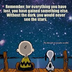 Wisdom from Charlie Brown & Snoopy❤️❤️✨✨✨