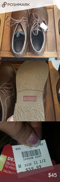 Men's loafers Brown men's loafers.  Size 11.5.  NWT.  Dexter Brand.  Very comfortable. Dexter  Shoes Loafers & Slip-Ons