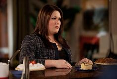 Love her hair and makeup!  Oh and this show! Drop Dead Diva Brooke Elliott as Jane Bingham.