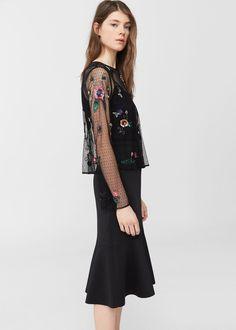 Vestido bordado: Prenda clave para la primavera 2017