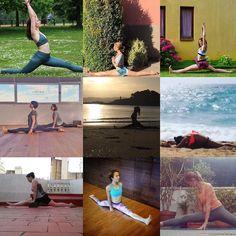 A menos de 24h para el día Internacional del Yoga aquí tenéis algunas de las chicas que ya han participado en el reto #21saludosalsol Tú todavía tienes tiempo hasta mañana te animas?! Comparte tu foto con tu pose de yoga y participa en el #concurso. Puedes ganar: 1 conjunto de deporte Fabletics Clases de Yoga gratis durante 1 mes en @be_vivea y 1 clase personalizada con @livinglavidayoga Entérate de todo lo que tienes que hacer para participar en el perfil de @livinglavidayoga #yoga #yogui…
