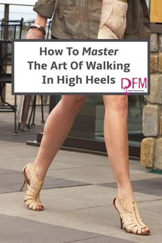 How To Master The Art Of Walking in High Heels If you have always wanted to know the secret to walking gracefully in high-heeled shoes, click through to read my tips and tricks for mastering those high heels. Daily Fashion, Trendy Fashion, Womens Fashion, Fashion Tips, Curvy Fashion, Petite Fashion, Fashion Fashion, Fashion Trends, Walking In High Heels