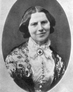 Civil War Nurse Clara Barton. After the war, she organized the cemetery at Andersonville Military Prison for Union Soldiers. She later founded the American Red Cross.