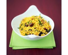 Curried Rice Salad With Grapes Recipe
