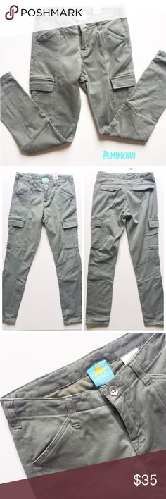 C&C California Pants C&C California Green Olive pants. Tons of pockets! Perfect for stashing everything you need this festival season. Zippers at the bottom.97% cotton/3% spandex. Please feel free to ask any questions :) Sorry, no trades. C&C California Pants