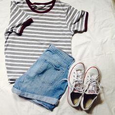 So who wouldn't like a causal outfit to wear to an amusement park?