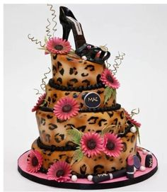 Fancy Cakes by Leslie by alissa This reminds me of someone I know