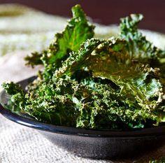 Homemade Baked Kale Chips | AllFreeCopycatRecipes.com