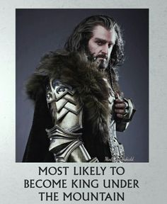The Hobbit: the Battle of the Five Armies - Thorin (Richard Armitage) Hobbit Cosplay, Tolkien Books, Jrr Tolkien, Aragorn, Legolas, The Hobbit Characters, O Hobbit, Hobbit Films, Hobbit Art