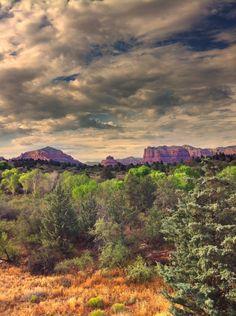 scenic landscape in #Sedona, Arizona shot using TrueHDR app; #iphoneography