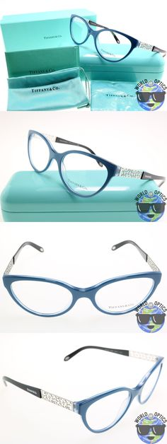 Eyeglass Frames: Tiffany And Co. Rx Eyeglasses Tf 2129 8189 Pearl Avio Frame [53-17-140] -> BUY IT NOW ONLY: $99.99 on eBay!