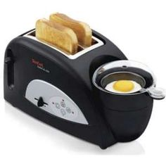 Tefal Toast N' Egg Toaster (gadgets, ideas, inventions, cool, fun, amazing, new, interesting, product, design, clever, practical, useful, tech, technology, gizmo, brilliant, genius, kitchen, breakfast, food)