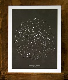 Michigan Constellation 11x14 Print. $20.00 / by Sibling
