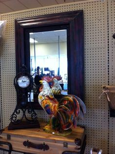 yes, we have these roosters!  Check out all of our home décor!