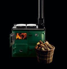 Rayburn wood fired cooker