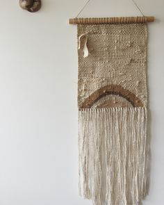 """120 Likes, 11 Comments - Gaby Dillon (@gaby.dillon) on Instagram: """"XMAS SALE! I love this lanky one. She's woven with twine, cotton slub yarn, eucalyptus dyed wool,…"""""""
