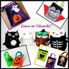 """#Modatelas """"Bolsas de Halloween"""""""