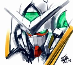 Gundam 00, Mecha Anime, Artworks, Mobile Suit, Digital, Awesome, Wallpapers, Image, Collection