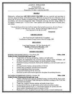 resume for teaching position skinners hoyes