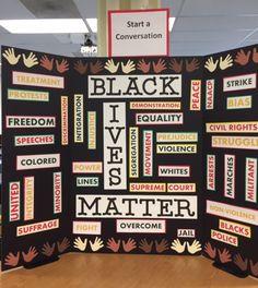 Black History Month conversation starter--I hope!
